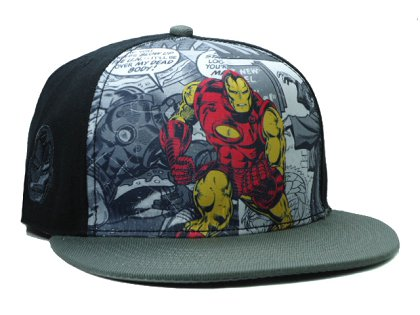 Cartoon Snapback Hat SF-H (19)
